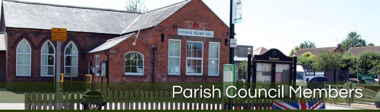 Header image - Parish Council Members